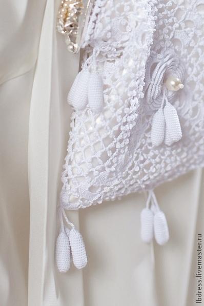 Одежда и аксессуары ручной работы. Ярмарка Мастеров - ручная работа. Купить Свадебная сумочка 'Irene'. Handmade. Белый, кружевная свадьба