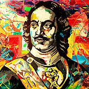 Картины и панно handmade. Livemaster - original item Painting Portrait Of Peter The Great. Handmade.