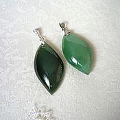 Украшения handmade. Livemaster - original item Pendants of jade. Handmade.
