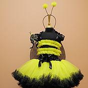 Работы для детей, ручной работы. Ярмарка Мастеров - ручная работа Новогодний костюм Пчелки. Handmade.