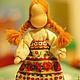 Народные куклы ручной работы. Ярмарка Мастеров - ручная работа. Купить Масленица. Handmade. Масленица, Праздник, блины, гарус