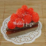 Материалы для творчества handmade. Livemaster - original item Silicone mold for soap Cake with raspberries. Handmade.