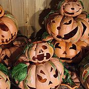 Для дома и интерьера handmade. Livemaster - original item Copy of Outdoor Garden Candle Lantern Halloween. Handmade.