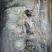 Картины и панно ручной работы. Ярмарка Мастеров - ручная работа Ночь. Handmade.