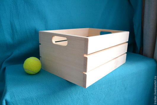 Декупаж и роспись ручной работы. Ярмарка Мастеров - ручная работа. Купить Ящик для хранения( Ящ04) -  из  дерева. Handmade. Заготовка, ясень