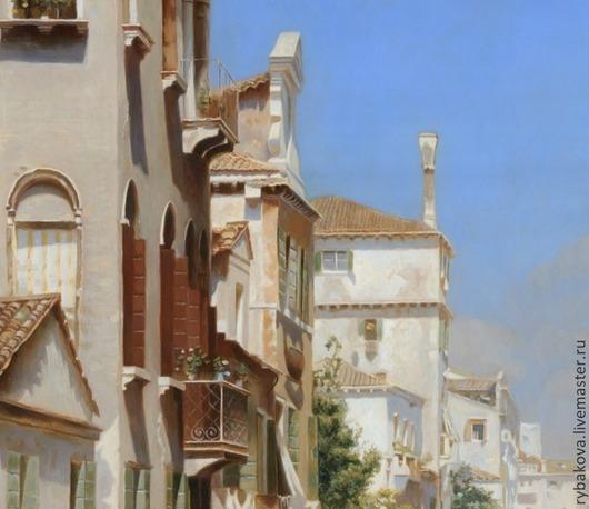 Фрагмент картины. Венецианский пейзаж.