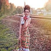 Одежда ручной работы. Ярмарка Мастеров - ручная работа Платье путешественницы (на заказ). Handmade.