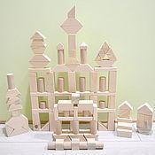 Куклы и игрушки handmade. Livemaster - original item Wooden blocks Cubes and Geometric Shapes. Handmade.