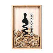 Box manualidades. Livemaster - hecho a mano Piggy Bank for wine corks In Vino Veritas BEECH. Handmade.