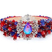Украшения handmade. Livemaster - original item Bezel the crown of stones in the style of Dolce & Gabbana. Handmade.