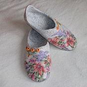 """Обувь ручной работы. Ярмарка Мастеров - ручная работа Тапочки """"Ольга"""". Handmade."""