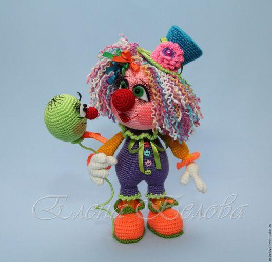 """Обучающие материалы ручной работы. Ярмарка Мастеров - ручная работа. Купить Мастер-класс по вязанию """"Куколка Клоунесса"""" (крючок). Handmade."""