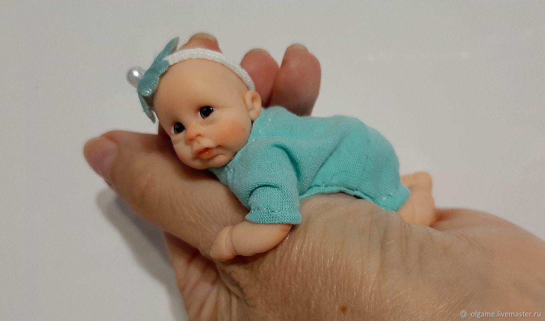 миниреборн, маленький пупсик, Куклы и пупсы, Владивосток,  Фото №1