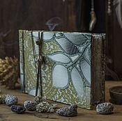"""Блокноты ручной работы. Ярмарка Мастеров - ручная работа Блокнот ручной работы """"Лесной"""". Handmade."""