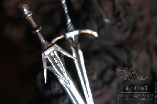 Кулоны, подвески ручной работы. Ярмарка Мастеров - ручная работа. Купить Ведьмачьи мечи. Подвески или миниатюра для кукол BJD. Handmade.