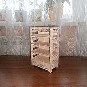 Материалы для творчества handmade. Livemaster - original item Doll shelf 448.. Handmade.