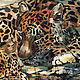 Order Picture batik Cheetahs. Pictures for the soul (RozaSavinova). Livemaster. . Pictures Фото №3