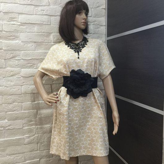 Платья ручной работы. Ярмарка Мастеров - ручная работа. Купить Платье из жаккарда. Handmade. Платье, жаккард