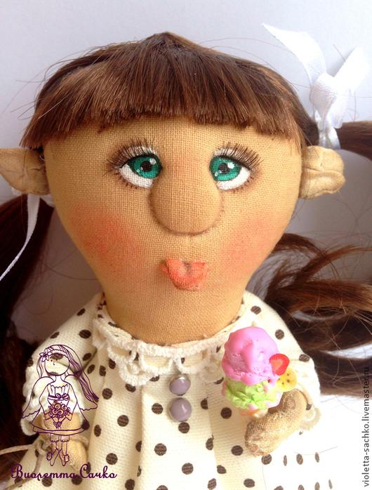 Ароматизированные куклы ручной работы. Ярмарка Мастеров - ручная работа. Купить Детство.... Handmade. Белый, мороженное, девочка, хорошее настроение