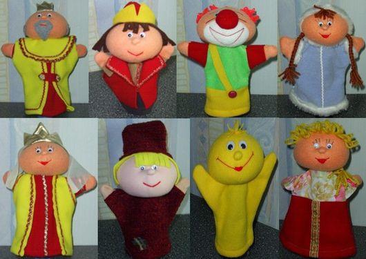 Перчаточные куклы в ассортименте