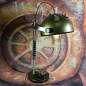 "handmade. Livemaster - original item Copy of Copy of LIGHT STYLE Dieselpunk ""MINIATURE LAMP"". Handmade."
