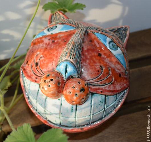 Статуэтки ручной работы. Ярмарка Мастеров - ручная работа. Купить улыбка чеширского кота 2 The smile of the Cheshire cat. Handmade.