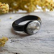 Кольца ручной работы. Ярмарка Мастеров - ручная работа Авторское кольцо лэмпворк. Handmade.
