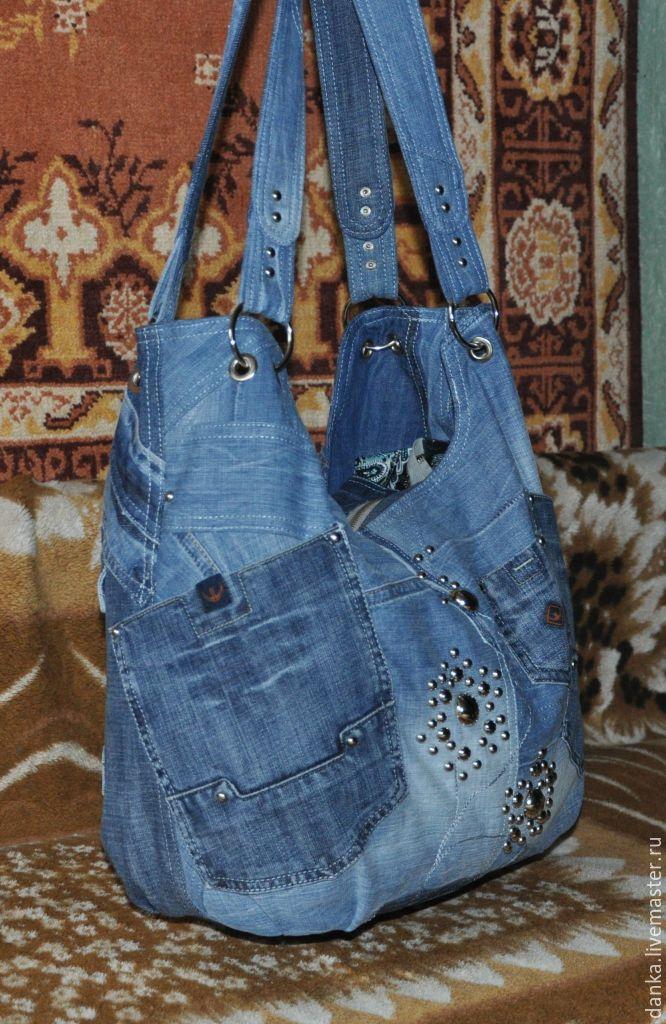 8b04144de18b Сумка из джинсовой ткани – купить в интернет-магазине на Ярмарке ...