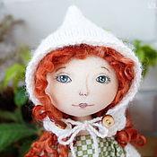 """Куклы и игрушки ручной работы. Ярмарка Мастеров - ручная работа Кукла текстильная """"В ожидании зимы"""". Handmade."""