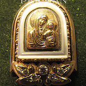Украшения handmade. Livemaster - original item Gold pendant