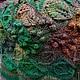 Кофты и свитера ручной работы. Большой зеленый уличный свитер. -Lisaveta-. Ярмарка Мастеров. Зеленый свитер, полушерстяная пряжа