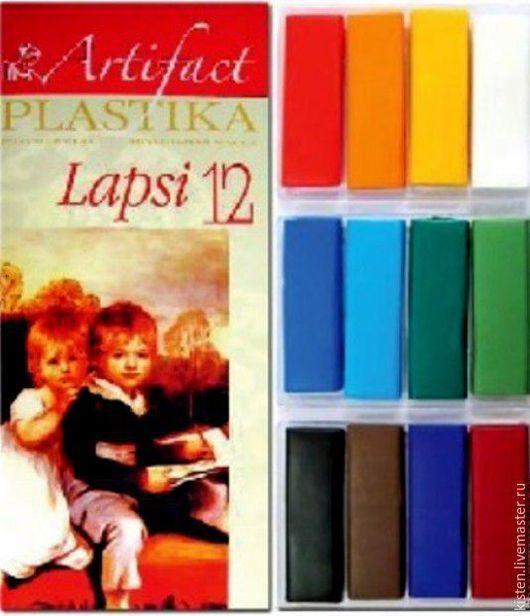 Пластика `Артефакт` Lapsi: набор из 12 классических цветов