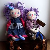 Куклы и игрушки ручной работы. Ярмарка Мастеров - ручная работа Домовята, романтичный вечер. Handmade.
