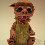"""Куклы и игрушки ручной работы. Ярмарка Мастеров - ручная работа Неизвестная зверушка """"Кусатик"""". Handmade."""