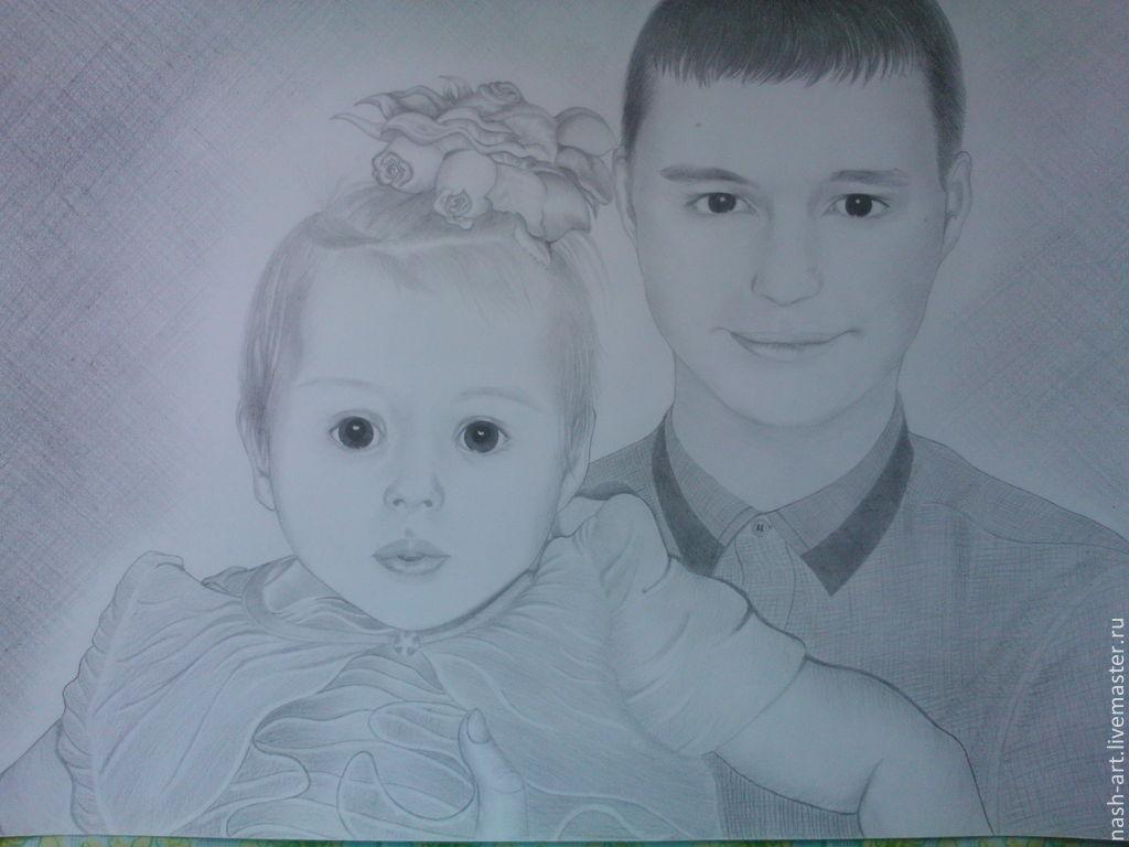фотографии по класс мастер карандашом портрет