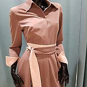 Одежда ручной работы. Ярмарка Мастеров - ручная работа платье рубашка. Handmade.