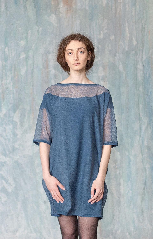 Женские платья с сеточкой