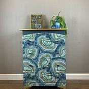 Для дома и интерьера handmade. Livemaster - original item Blue agate. Handmade.