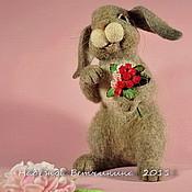 Куклы и игрушки ручной работы. Ярмарка Мастеров - ручная работа Кролочка. Handmade.