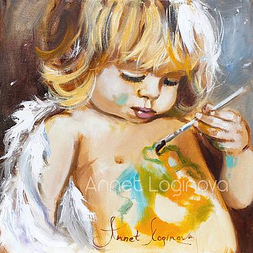 Картины и панно ручной работы. Ярмарка Мастеров - ручная работа Нарисую свое счастье. Handmade.