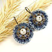 Украшения handmade. Livemaster - original item Misty Jean Sketch. earrings. Handmade.