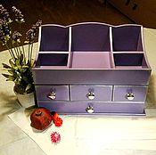 Для дома и интерьера handmade. Livemaster - original item Purple table dresser. Handmade.