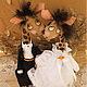 Игрушки животные, ручной работы. Влюбленные Жирафики. Авторская Текстильная Игрушка. Анастасия Голенева. Ярмарка Мастеров. Игрушка авторская