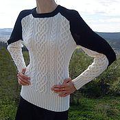 """Одежда ручной работы. Ярмарка Мастеров - ручная работа """"Птица"""" свитер. Handmade."""