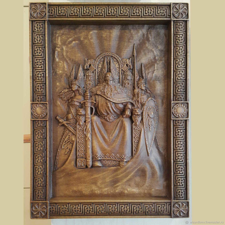 Wood panel 'ROD', Sculpture, Pyatigorsk,  Фото №1