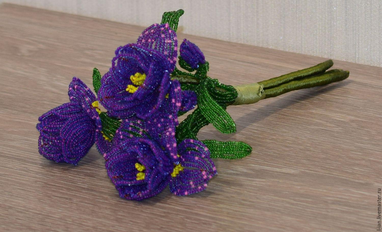 Бисероплетение цветы фото схемы