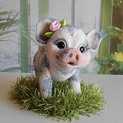 Куклы и игрушки handmade. Livemaster - original item gilt Mini-PIGGIES (dwarf pigs). Handmade.