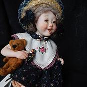 """Куклы и игрушки ручной работы. Ярмарка Мастеров - ручная работа Кукла """"Веснушка"""". Handmade."""