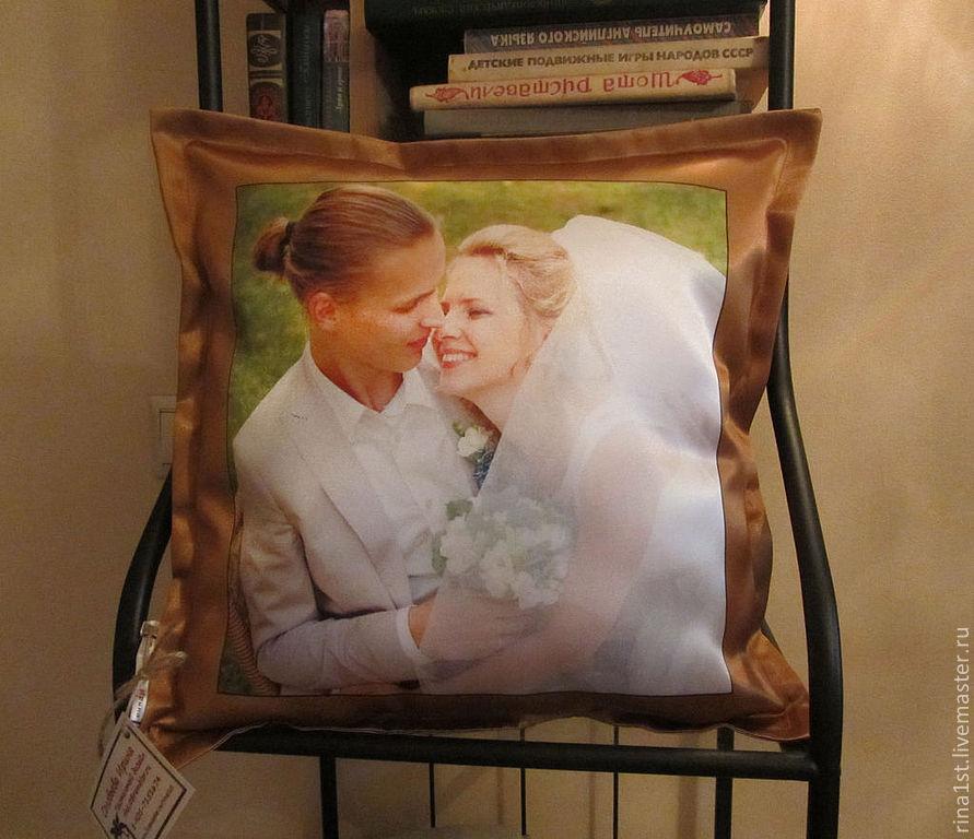 подушка с фото хабаровск уайт