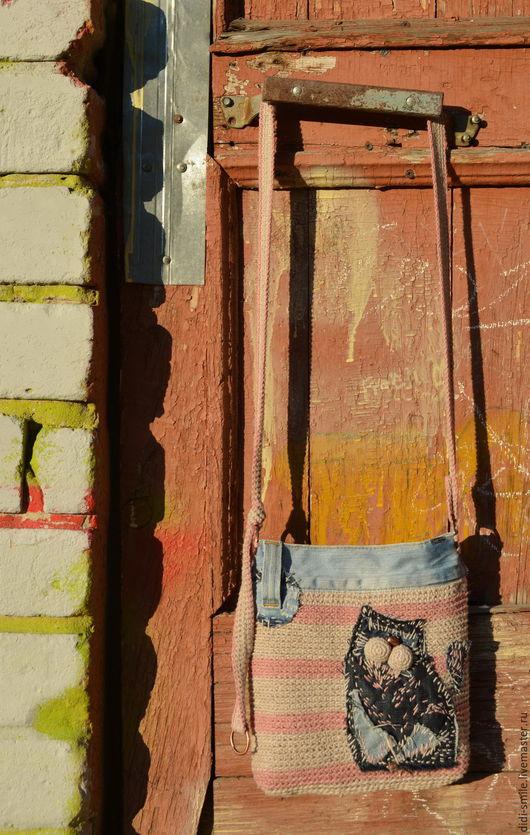 Женские сумки ручной работы. Ярмарка Мастеров - ручная работа. Купить КотоБохо. Сумка авторская текстильная. Handmade. Комбинированный, котик